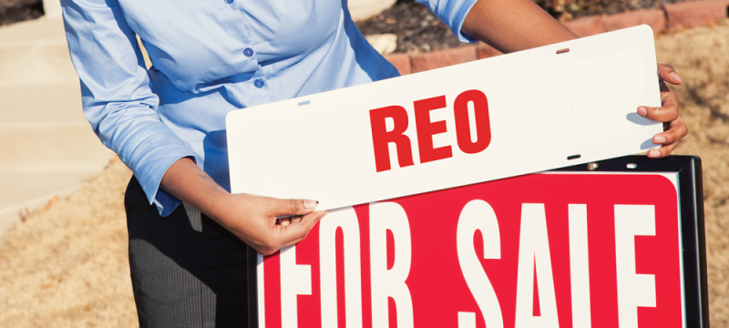 REO For Sale Sign